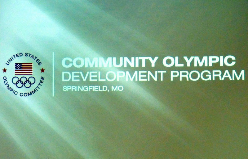 Olympic Committee screen presentation