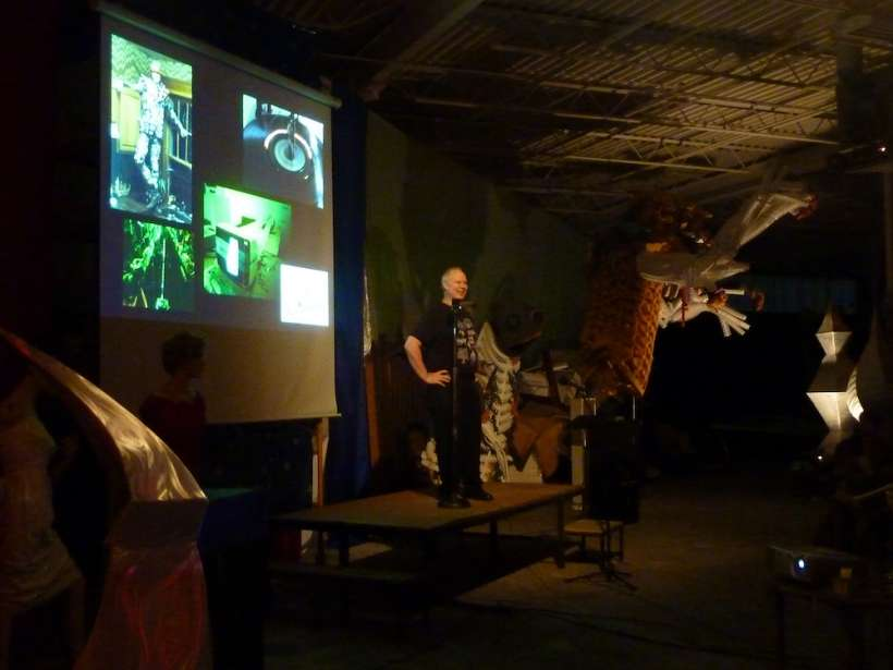 Russ RuBert presents at PechaKucha NIght vol. 8